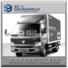 Foton 4X2 115hp 4t mini cargo truck van
