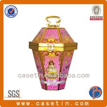 lantern shape beautiful cookie tins