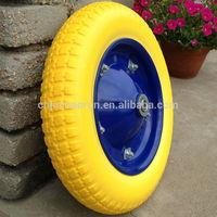 Wheel Barrow Wheels PU