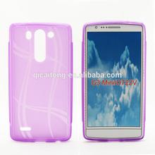 mobilephone lucky style tpu gel case back cover for LG optimus G3 Mini D722V G3S