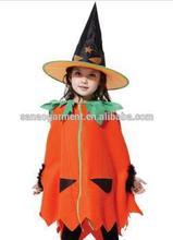 Children's pumpkin cloak Girls COSPLAY Halloween costumes