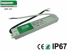 20W waterproof led power supply 12v