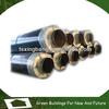 direct buried steam pipeline glasswool insulation pipe