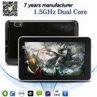 ZXS-7-A13 Allwinner A23 dual core bluetooth 2g smart phone tablet 7 inch