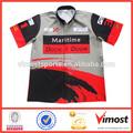 ropa de verano de la promoción de las carreras de camisas para hombres