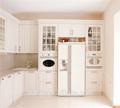 laminado pvc branco armário de cozinha