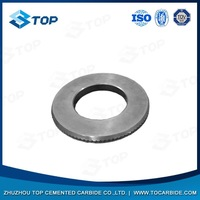 China hot sale hot hardness tungsten carbide guide roller for ribbed steel bar