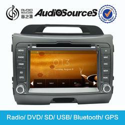 car stereo for kia sportage radio dvd cd gps with bluetooth can bus box steering wheel control SD USB 3G TV