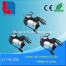 heavy duty auto accessory portable electric 12V truck air brake compressor LF-HL202