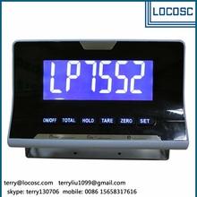 Electronic digital weighing indicator