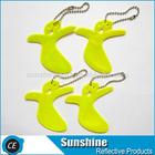 pvc keychain hi vis promotional gift