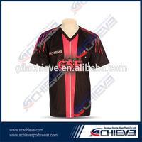 custom printed short sleeve football jersey soccer jerseys