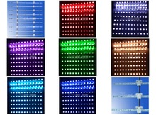 Perfect solution for large sign boxes Flexible RGB LED Matrix Bar
