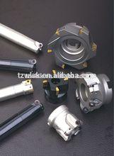 face cutter long flute aluminum 3 blades cutter tool/cnc metal cutting aluminum endmill from china supplier