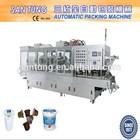 Automatic yogurt cup filling sealing machine