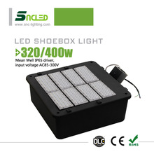 UL led street light DLC led shoebox light pole mounted lighting