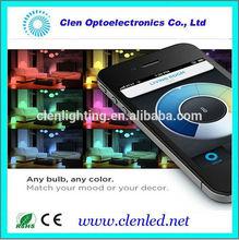 Wifi led lights China colors changing /led RGB wifi bulb lights