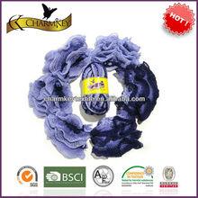 Fashion knitting craft and art fishnet yarn acrylic
