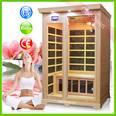 Prix usine! La reine produits sauna infrarouge en fibre de carbone chauffe sauna en bois salle de chauffe gw-205