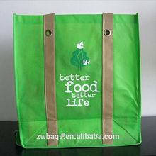 ZW0054 Recycle yellow shopping non woven bag