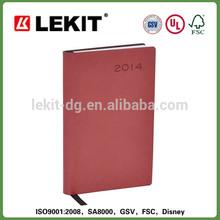 Hot sale leather diari planner 2015