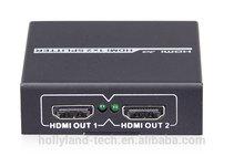 HOLLYLAND 1X2 HDMI Splitter, 1080p 60Hz 3D , 5s siwtching time
