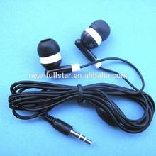 2014 fashionable earring earphones free sample earphones good quality and nice appearance