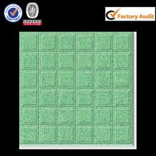 unpolished concave surface ceramic tile dark green