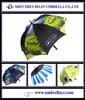 All golf item for sublimate colorful umbrella sale