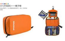Stock Mens Hanging Travel Foldable Transparent Toiletry Bag