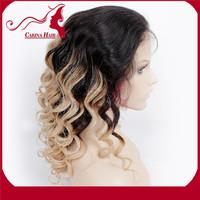 Carina Hair Products 2014 Hot Selling Wholesaler Natural Color Raw Peruvian Human Hair Human Hair Ombre Wig