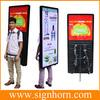 Human mobile advertising LED lightbox backpack