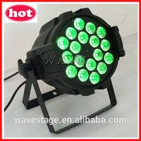 WLP-01-5 18 pcs rgbwa(uv) 5 in 1(or 6 in 1) 15w leds indoor par can indoor led par64 light