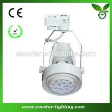 High brightness white led track spotlight 35w with lamp bracket 2870lm
