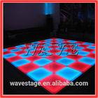WLK-1-1 640 pcs RGB leds manufacture dance floor acrylic led floor tile light