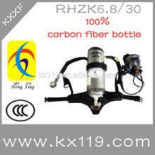 Rhzk6.8l/30 mpa de equipo contra incendios de emergencia portátil de un aparato de respiración