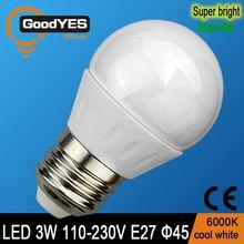new zhong shan ce rohs cheap glass led light bulb with e27 base