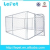 2014 new wholesale iron outdoor large dog kennel runs
