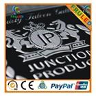 JP car logo car emblem sticker,metal chromed logo