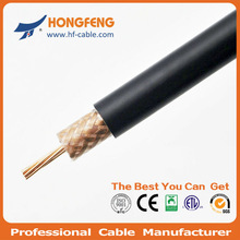 High performance RG214 coaxial cable 50 ohms telecom