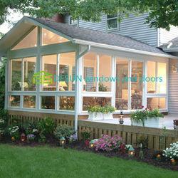 Cheap Prefabricated House Price Modular Houses design sunroom