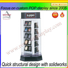 2014 hot sale new style free standing mdf merchandise display