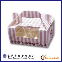 custom cardboard paper cookie boxes