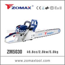 ZOMAX ZM5030 50cc 2.0kw chainsaw for concrete cut off saw