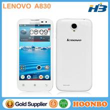 "Call Bar Android Mobile Phone Lenovo A830 Mobile Phone Quad Band Mobile Phone 5"" MTK6589 Quad Core"