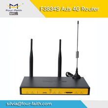 F3834S industrial 4G ads router wifi TF card hotspot bus station, shopping mall, supermarket, bank lobby, bus, coach