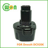 7.2V Battery for Dewalt Battery 7.2V Tools DE9057, DE9085, DW9057