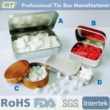 fashional design food safe custom mint tin box