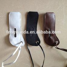 Various type leather ego neck lanyard