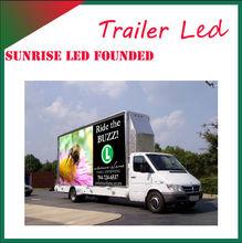 led advertising trucks,mobile display advertising Vehicle,Stage Van
